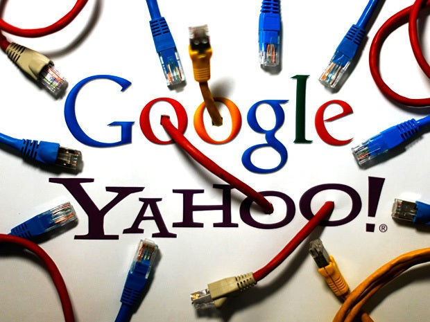 Google and Yahoo