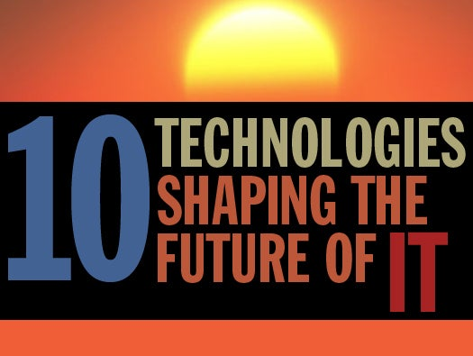 10 emerging technologies that will shape IT\'s future