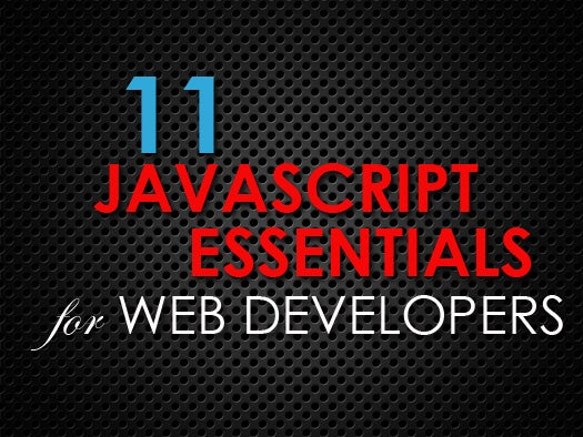 11 essential JavaScript tools for Web developers