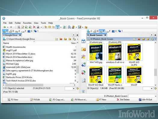 Top free desktop productivity tool: FreeCommander XE