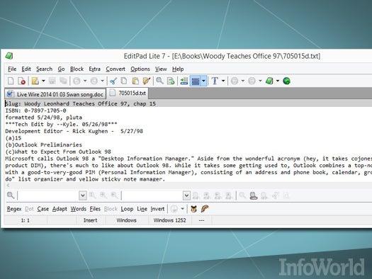 Top free desktop productivity tool: EditPad Lite