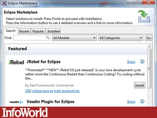 Eclipse Marketplace Client