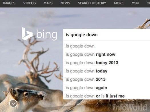 Google falters again