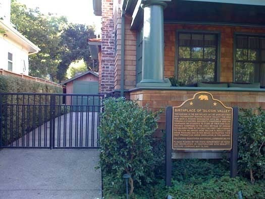 Birthplace of Hewlett-Packard
