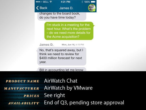 AirWatch Chat