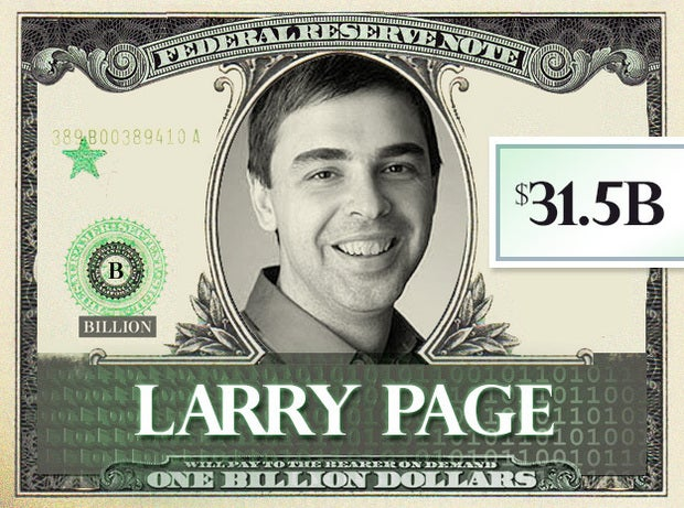 Larry Page, $31.5B