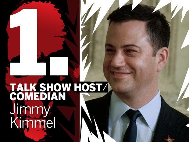 Talk show host/comedian Jimmy Kimmel