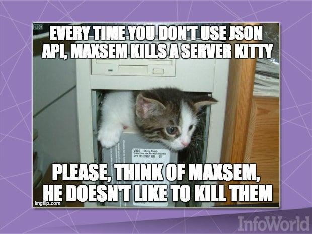 Lightweight JSON API