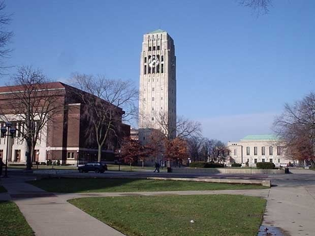 Burton Tower at the University of Michigan
