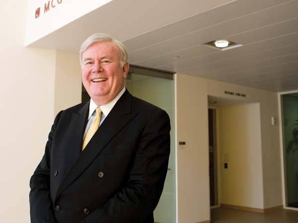 Patrick McGovern, founder and chairman, International Data Group [IDG]