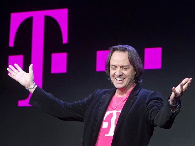 T-Mobile looks to unseat Sprint as third-largest U.S. carrier