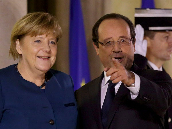Merkel and Hollande to talk about avoiding US servers