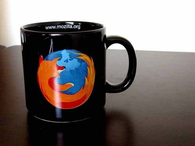 Mozilla Firefox mug
