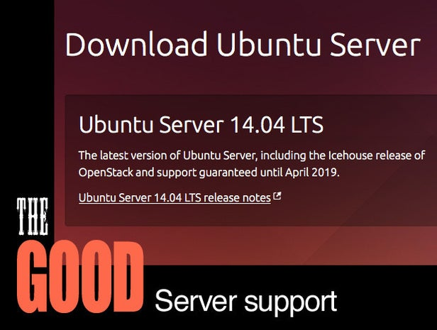 Ubuntu 14.04 Long Term Support/LTS