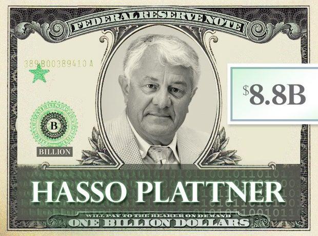 Hasso Plattner, $8.8B