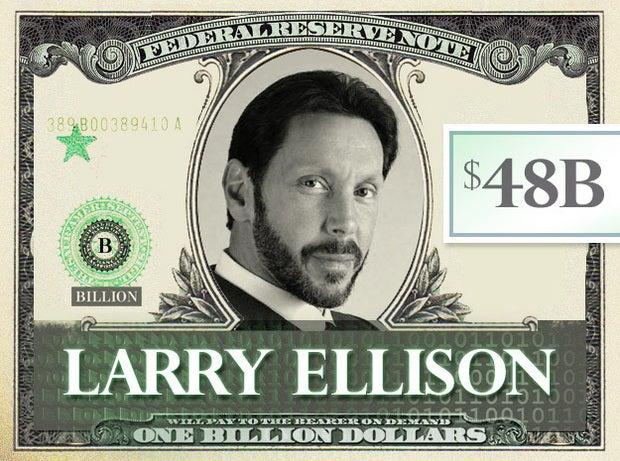 Larry Ellison, $48B