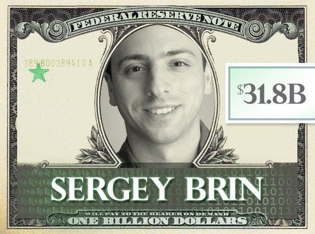 Sergey Brin, $31.8B