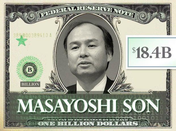 Masayoshi Son $18.4B