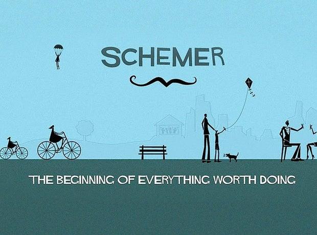 Schemer scrams