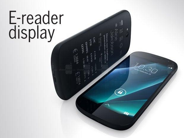 E-reader display