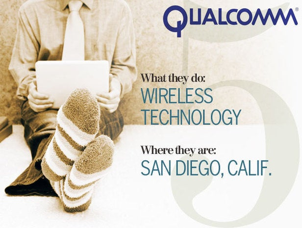 QualComm, telecommuting