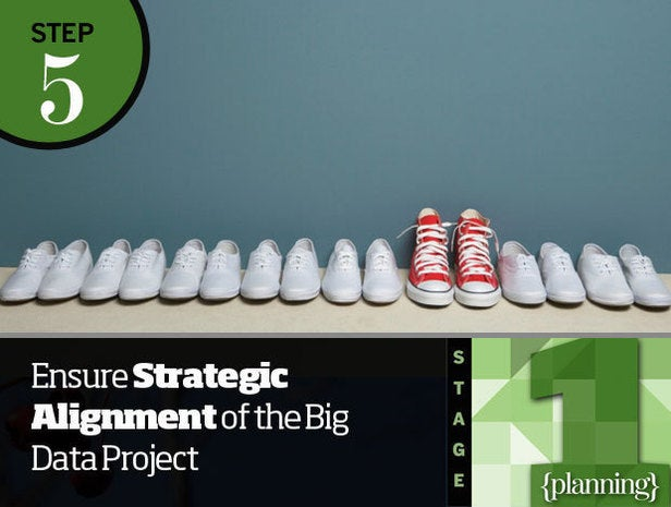 Step 5: Ensure Strategic Alignment of the Big Data Project