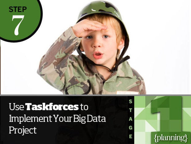 Step 7: Use Taskforces to Implement Your Big Data Project