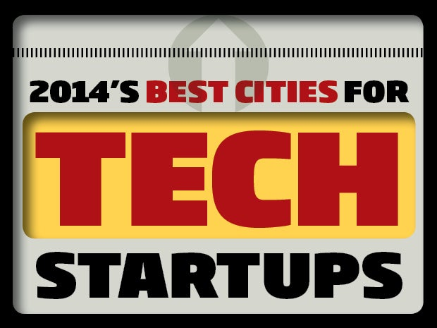 The Best Cities for Tech Startups