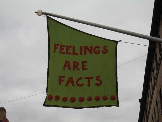 Feelings are Facts