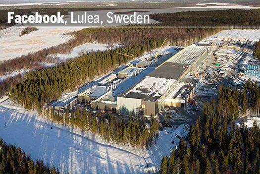 Facebook, Lulea, Sweden