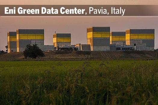 Eni Green Data Center, Pavia, Italy