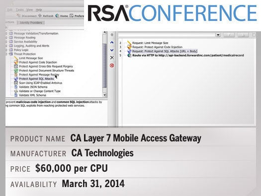 CA Layer 7 Mobile Access Gateway