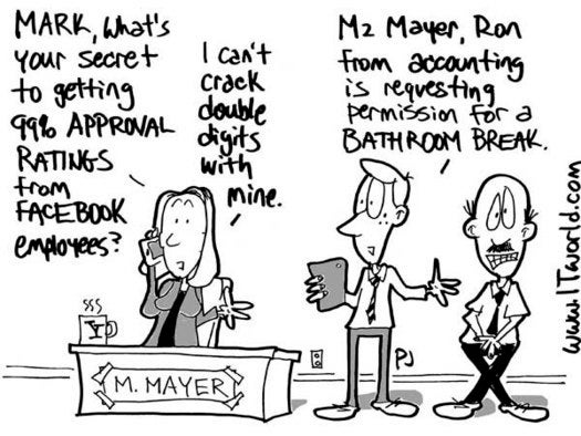 Marissa Mayer needs advice from Mark Zuckerberg