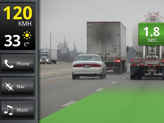 iOnRoad Augmented Driving Pro (Android and iOS)