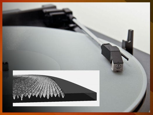 3D-printed record