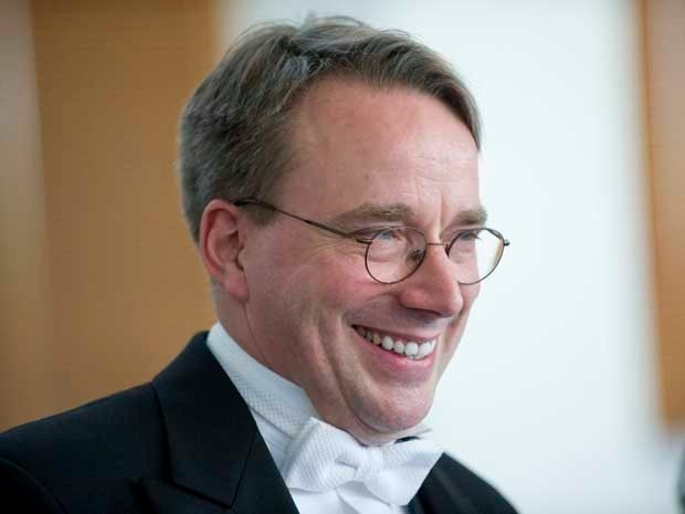 Photo of Linus Torvalds