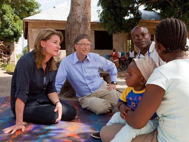 Bill & Melinda Gates, Stanford University,  June 15