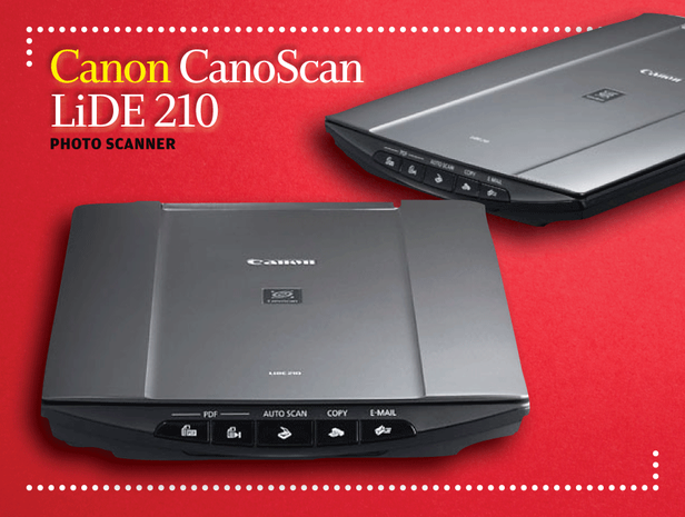 Canon CanoScan LiDE 210 photo scanner