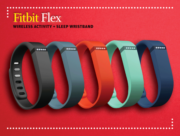 Fitbit Flex bands in different colors