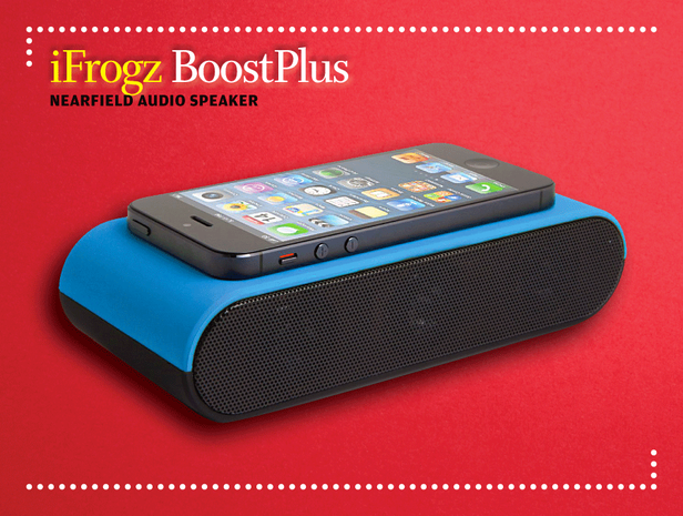 iFrogz BoostPlus NearField Audio speaker