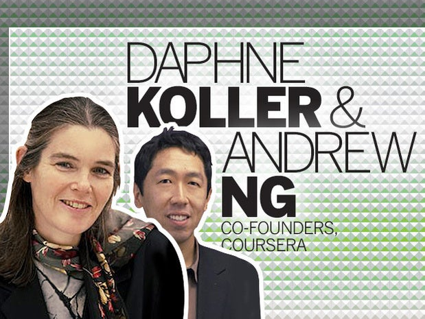 Daphne Koller and Andrew Ng