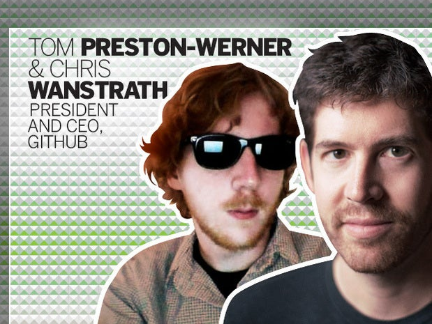 Tom Preston-Werner and Chris Wanstrath