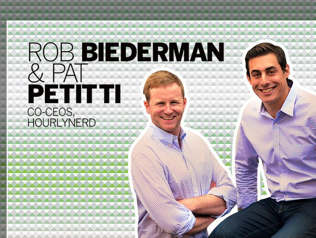 Rob Biederman and Pat Petitti