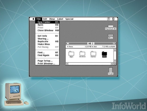Macintosh: The graphical user interface