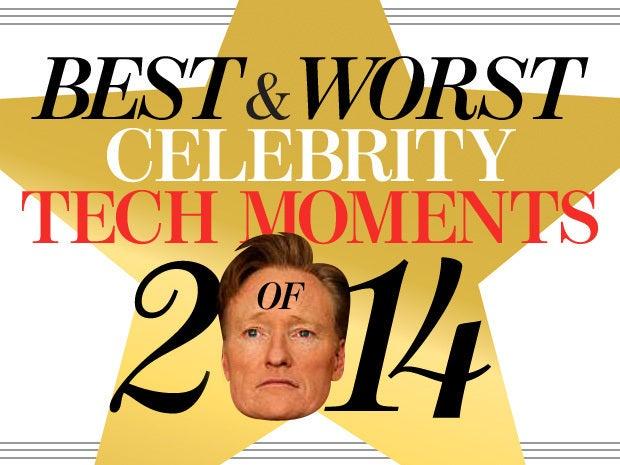 celebrity tech moments