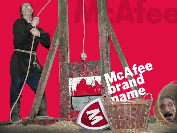 McAfee brand name