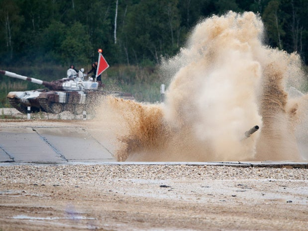 World Tank Biathlon