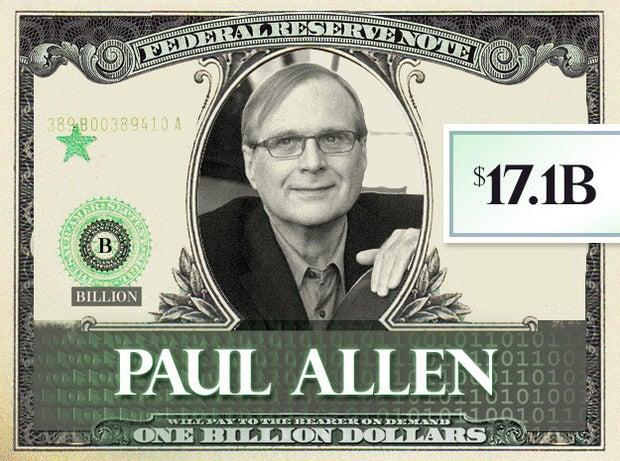 Paul Allen, $17.1B