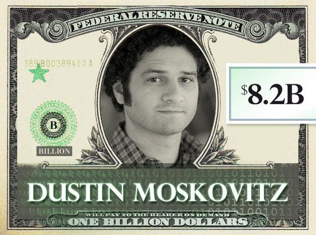 Dustin Moskovitz, $8.2B