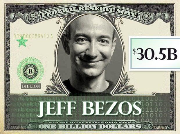 Jeff Bezos, $30.5B